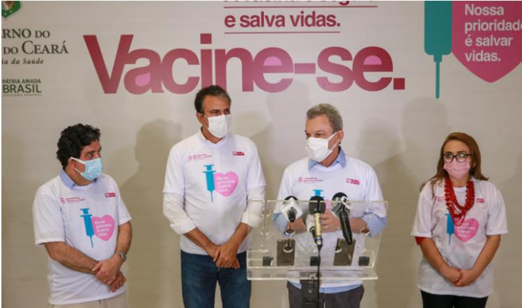 Em coletiva de imprensa, o prefeito de Fortaleza afirmou que esse é mais um passo importante na luta contra a pandemia e disse que a nova remessa permitirá a Fortaleza avançar por grupos que compõem a primeira fase do Plano de Imunização
